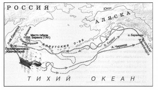экспедиция Беринга и Чирикова