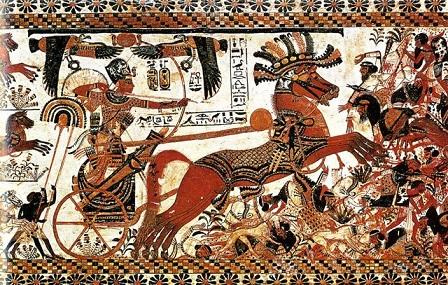 фараон в бою