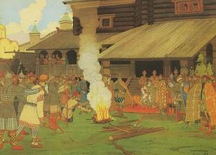 Билибин - суд во времена русской правды