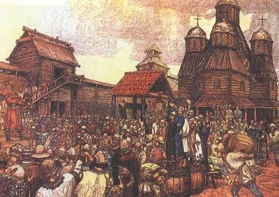 Васнецов - Новгородское вече
