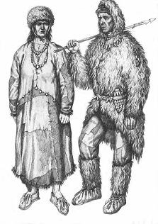костюмы первобытного человека