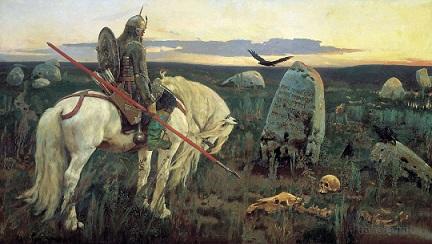 рассказ по картине Васнецова Витязь на распутье